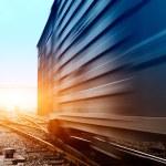 Rails under the sky background — Stock Photo #23704211