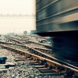 Freight train motion blur — Foto Stock #23704217