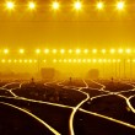 Rails under the sky background — Stock Photo #23710141
