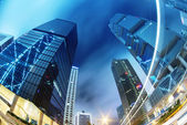 Modern office buildings in Central Hong Kong. — Stockfoto