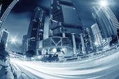 Krásné scenérie města v noci — Stock fotografie