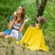 Stock Photo: Alice in Wonderland