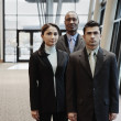 Royalty-Free Stock Photo: Businesspeople posing together