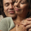 Young couple hugging — Stock Photo