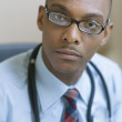 Stock Photo: Portrait of male doctor