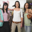 Young women shopping together — Stock Photo #13221778