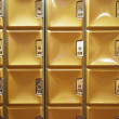 Stock Photo: Square lockers