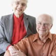 Royalty-Free Stock Photo: Portrait of senior couple