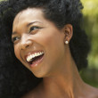 Royalty-Free Stock Photo: Close up of South American woman laughing