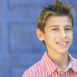 Young boy smiling for the camera — Stock Photo