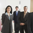 Stock Photo: Portrait of Hispanic businesspeople