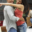 South American couple dancing - Stock Photo