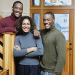 Stock Photo: Portrait of mother with sons