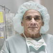 Stock Photo: Male surgeon posing