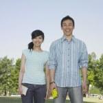 pareja joven posando — Foto de Stock