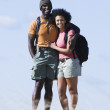 Couple hiking — Stock Photo #13226329