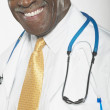 Close up portrait of male doctor — Foto de Stock