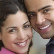 Portrait of smiling young couple — Stock Photo #13226783