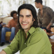 South American man at party — Stock Photo