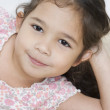 Stock Photo: Close up portrait of young girl