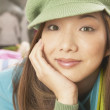 Close up of young Asian woman — Stock Photo