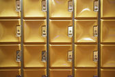 Square lockers — Stock Photo