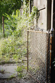 Rusted gate — Stock Photo