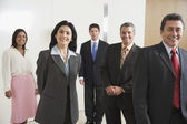 Portrait of Hispanic businesspeople — Stock Photo