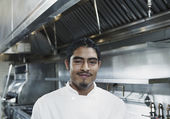 Portrait of male chef — Stock Photo