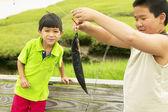 Braci łowienie ryb — Zdjęcie stockowe
