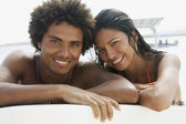 Portrait of South American couple — Stock Photo