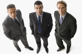 Portrait of multi-ethnic businessmen — Stock Photo