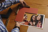 Man framing a picture — Stock Photo