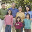Three generations of Asifamily — Stock Photo #13230214