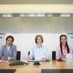Portrait of three businesswomen — Stock Photo