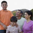 Family smiling together — Stock Photo #13230923