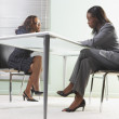 Stock Photo: Businesswomen in a meeting