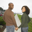 Couple holding hands — Stock Photo #13232009
