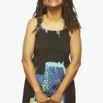 coup de Studio de l'âge de la femme africaine en levant — Photo
