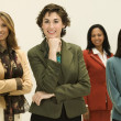 Stock Photo: Group of businesswomen