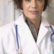 Portrait of female doctor — Stockfoto