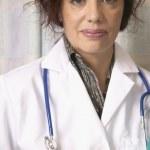 porträt der Ärztin — Stockfoto
