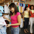 Three women shopping — Stock Photo #13236200