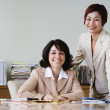 Portrait of businesswomen in conference room — Stock Photo