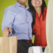 Foto Stock: Couple shopping