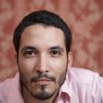 Portrait of Hispanic man — Stock Photo #13237840