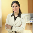 Portrait of businesswoman — Stock Photo