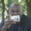 Stock Photo: Africmusing digital camera