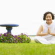 Wommeditating — Stock Photo #13238963