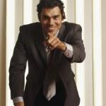 Hispanic businessman — Stock Photo